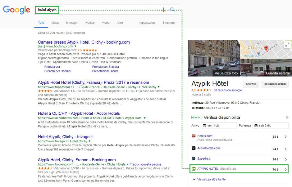 google hotel price ads hotel finder
