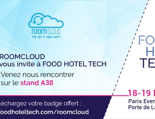 El Food Hotel Tech 2019 se acerca… ¡y RoomCloud estará allí!
