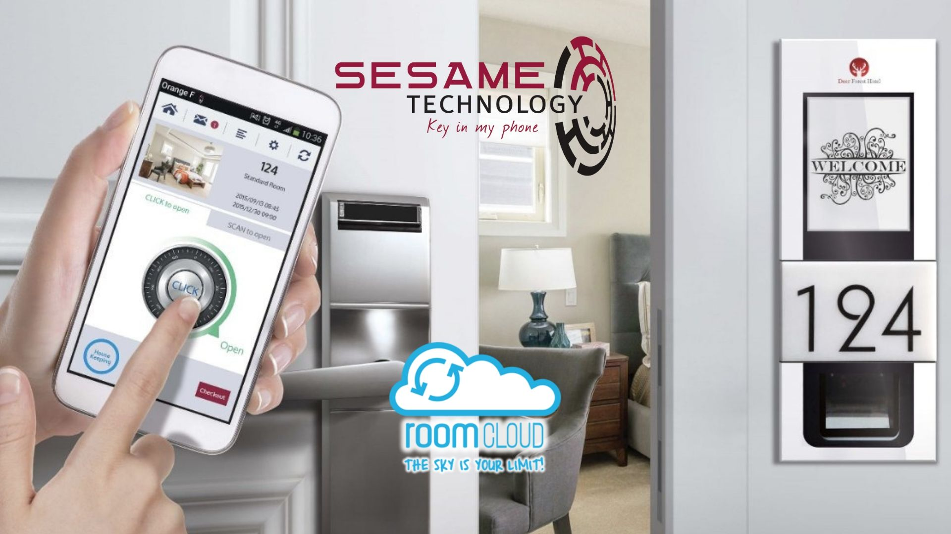 Elimina l'attesa al check-in con Sesame Technology