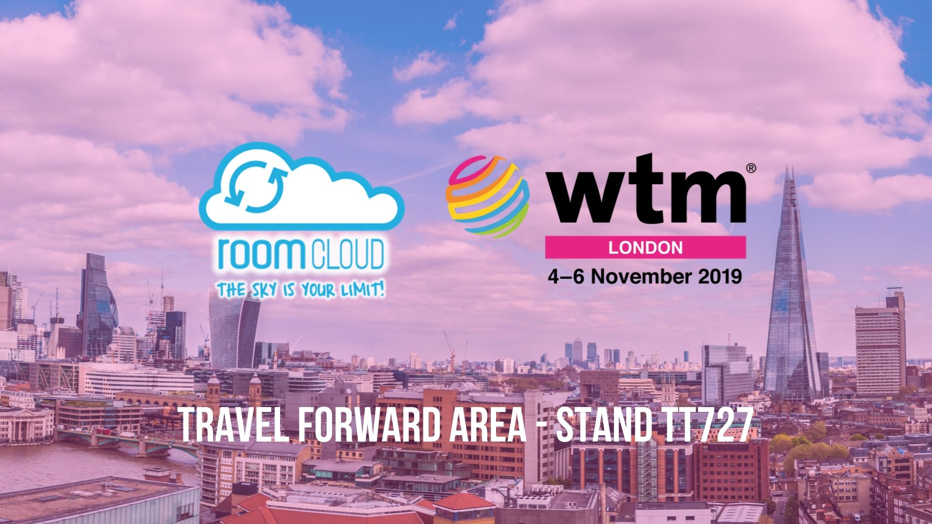 RoomCloud will attend WTM 2019 in London