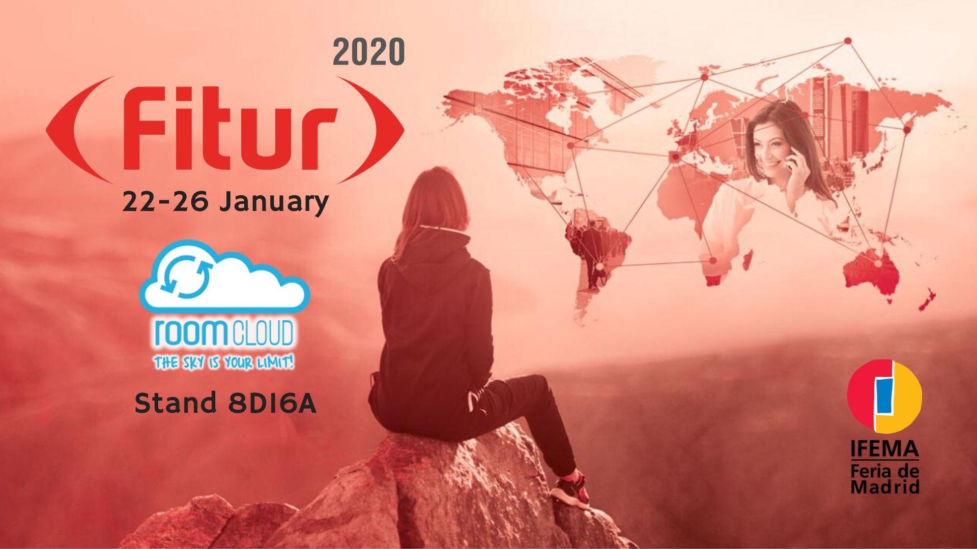 Il Team RoomCloud ti aspetta a FITUR 2020
