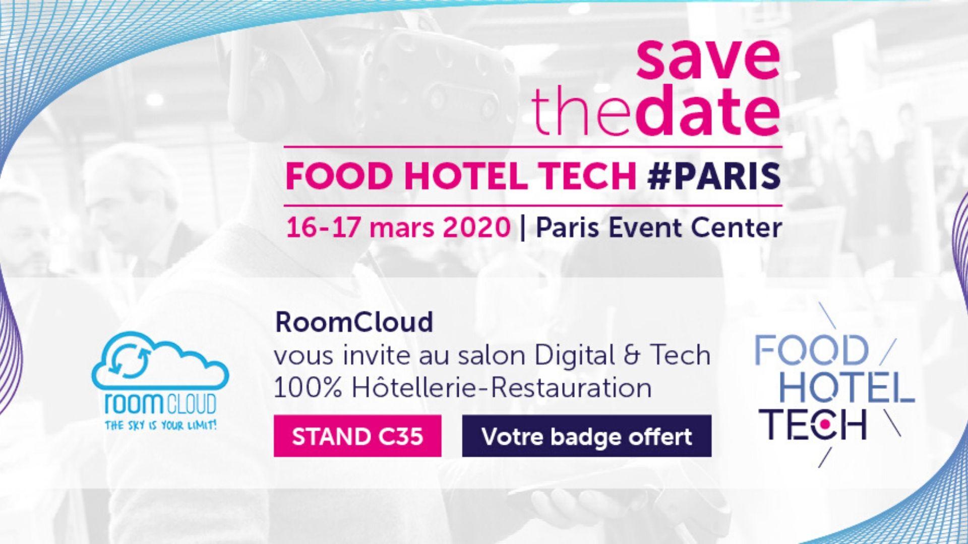 Roomcloud vuelve a Food Hotel Tech Paris