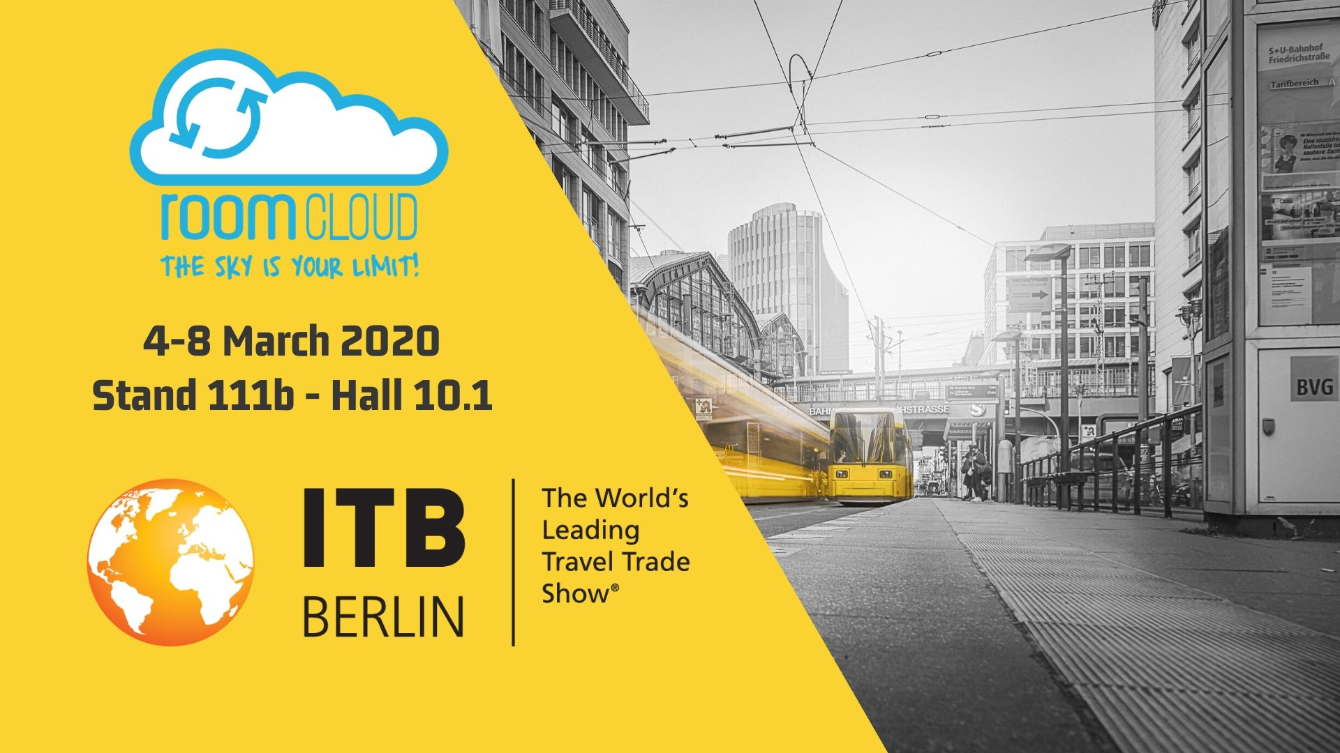 RoomCloud awaits you at ITB Berlin