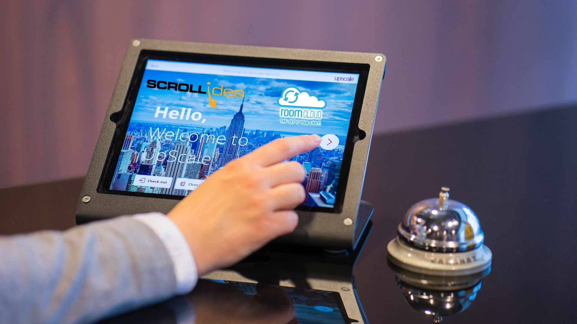 Social distancing and hotels? A solution with the digital concierge