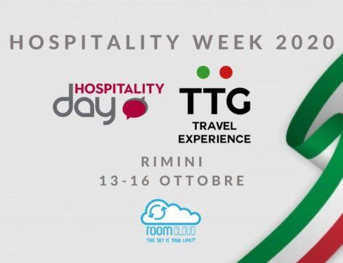 RoomCloud ti aspetta a TTG e Hospitality Day a Rimini