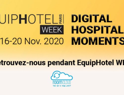 RoomCloud vous attend au EquipHotel WEEK 2020!
