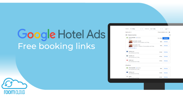 Google free booking links